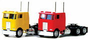 Herpa-peterbilt 362e Cabover W/dual Rear Axles - Assembled -- Various Colors - H