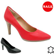 Real Leather Women's Pumps Leather Bridal Shoes Heeled 9-cm Stiletto Heel Sale