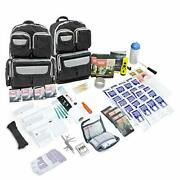 Good For 4 Person Urban Survival 72-hour Bug Out Go Bag Be Ready For Disasters