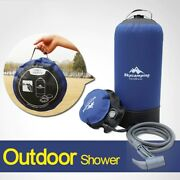 Summer Portable Pressure Shower Bag Foot Pump Inflatable Outdoor Camping Bath Us