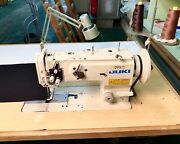 Juki Walking-foot Lockstitch W/table/3-phase Motor Excellent Working Condition