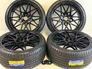 20 Stgd Wheels Rims Tires Fit Bmw 3 4 Series 3 4 5 6 M Black M 666 Competition