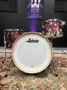 Ludwig Classic Maple 3-piece Downbeat Shell Pack - Burgundy Pearl
