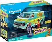 Playmobil Scooby-doo The Machine Of The Mystery With Effects Of Light+4 Years