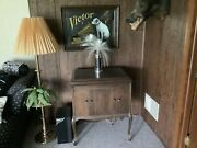 Antique Victor Talking Machine Victrola Wind Up Record Player Phonograph