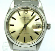 Vintage Tudor Oysterdate Ref 7996/0 Automatic 34mm Roulette Date