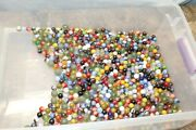 Vintage Lot Of Mixed Marbles 7.11 Pounds 119d