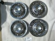 1969-70 Chevy Camaro Chevelle Nova Impala 14 Gm Wire Wheel Hubcap Set Of 4 Oem