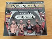 Panini Prizm Ufc Debut Edition 1 Sealed Hobby Pack All From Same Box