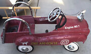 Instep Fire Engine No. 7 Pedal Car Fire And Rescue Truck Restoration Project Lqqk