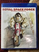 Royal Space Force The Wings Of Honneamise Blu Ray Brand New Anime Classic
