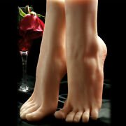 Lifelike Female Feet Foot Display Model Mannequin Realistic Ankle Length Size 36