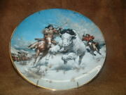 Gorham China Collector Wall Plate Big Medicine By Frank Mccarthy