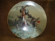 Gorham China Collector Wall Plate Out Of The Rising Mist By Frank Mccarthy