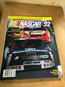 Nascar Winston Cup Illustrated Magazine -yearbook And Press Guide 1992 - Look