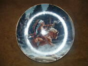Gorham China Collector Wall Plate The Challenge By Frank Mccarthy