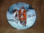 Gorham China Collector Wall Plate Winter Of 41 By Chuck Ren
