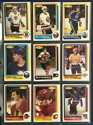 1986-87 O-pee-chee 1986-87 Near Complete Set No Roy Exmint To Nrmint+ 55045
