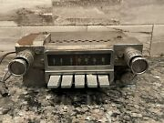 Philco 6tpz 1966 Ford Mustang Push Botton Am Radio With Original Knobs Untested