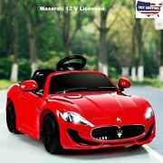 Kids Ride On Cars With Remote Control Mp3 Electric 12v Horn Led Outdoor Toy Gift