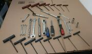 Lot Of 33 Blue Point Tools - Wrenches, Sockets, T Handle Allen Key Wrench Usa