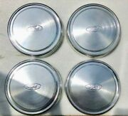 Ford Factory 15 Hub Caps. F2ua-1130-ta. Look New But Were Loose In A Box.