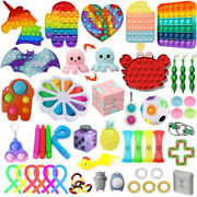 1-120 Pack Fidget Sensory Toy Set Stress Reliever Autism Anxiety Kids Adults Toy