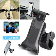 360anddeg Mount 5-12 Mobile Phone Tablet Bike Holder Flexible Fitness Bicycle Stand