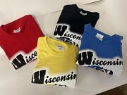 Wisconsin T-shirts Come Smell Our Dairy Aire 1 Lot 234 Total Great Colors