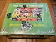 2005 Press Pass Football Hobby Box Factory Sealed Aaron Rodgers Gore Autos