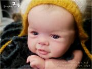Studio-doll Baby Reborn Boy Amelie By Sandy Faber Like Real Baby