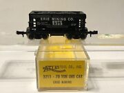 Atlas N Scale 3211 Erie Mining Company 70 Ton Ore Car With Black Load