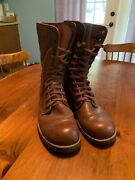 Reproduction Ww2 Wwii Army Airborne Service Shoes Boots Goodyear Welted Size 12d