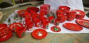 Waechtersbach Christmas Tree - Dinnerware Set Of 60 - Pieces Listed In Ad