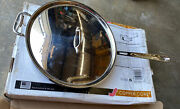 New In Open Box All-clad 6 Qt Copper Core Saute Pan With Lid