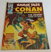 Savage Tales Featuring Conan The Barbarian 3 Feb 1974, Marvel