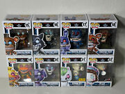Funko Pop Five Nights At Freddyand039s Fnaf Twisted Ones Complete Set Of 8 Figures