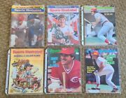 Lot Of Pete Rose Sports Illustrated Magazines 7 Issues - 60's, 70's 80's