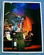 Keith Emerson Emerson Lake And Palmer Ke Signed Glossy Photo Of Knife / Hammond