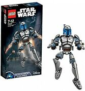 Lego Star-wars Buildable Figure Jango Fett 75107 Toy For Kids 7 To 12 Years