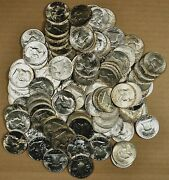 Roll Of 20 Different 1948 - 1962 Au / Slider / Unc And Proof Franklin Half Dollars