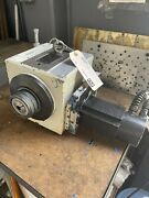 Fadal 4th Axis Rotary Table Model Vh65 With 5c Collet Closer Ref8012
