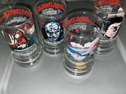 Taco Bell 1984 Star Trek Iii Search For Spock Collectible Glasses 4 Nice