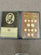 Abraham Lincoln Prestigious Collection 2009 2010 P And D Dollar Cent Set In Book