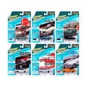 Classic Gold Collection 2020 Set A Of 6 Cars Release 2 1/64 Diecast Model Car...
