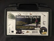 Gunnison River Fly Tying Kit Deluxe Fly Fishing Hard Case How-to Tools