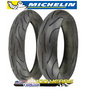 Michelin Pilot Power Tire Set 120/70-17 Front And 180/55-17 Rear - 2 Tires