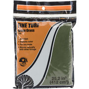 Turf 18 To 25.2 Cubic Inches-green Grass - Fine, Pk 3, Woodland Scenics