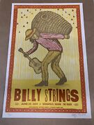 Billy Strings Vogue Indianapolis Indiana June 29 2019 Signed And Numbered Poster
