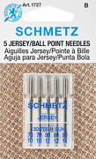 Schmetz-ball Point Jersey Machine Needles. These Needles Are For Use On Knits An